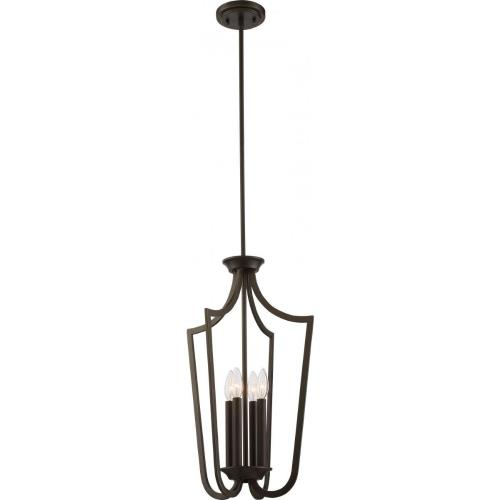 Nuvo Lighting 60/5976 Laguna - Four Light Caged Pendant