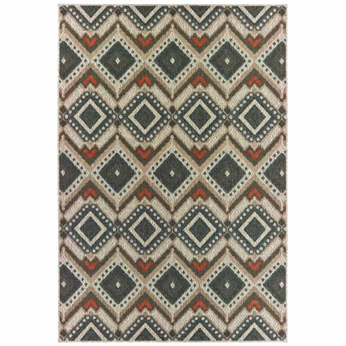 Oriental Weavers L002X3 Latitude - Indoor/Outdoor Rug