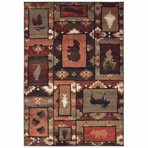 Oriental Weavers W9601D Woodlands - Indoor Area Rug