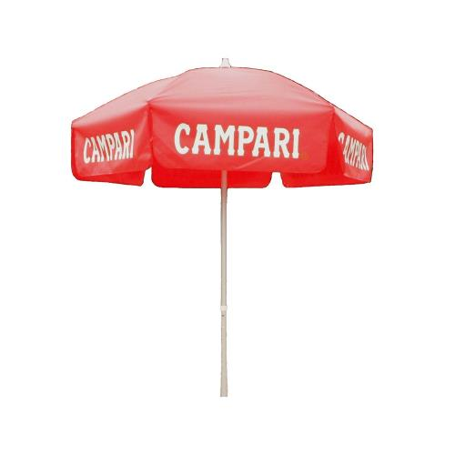 Parasol Enterprises 1382 Campari - 6' Umbrella with Beach Pole