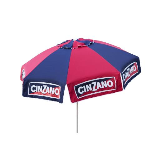 Parasol Enterprises 1384 Cinzano - 8' Deluxe Beach and Patio Umbrella with Storage Bag