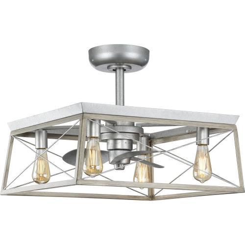 Progress Lighting P250067 Briarwood - 22 Inch 3 Blade Ceiling Fan with Light Kit