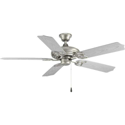 Progress Lighting P2502-141 AirPro Outdoor - Wide - Ceiling Fan in Transitional style - 52 Inches wide by 12.75 Inches high
