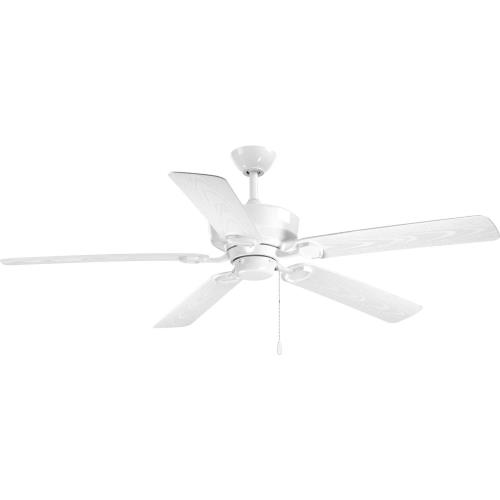 Progress Lighting P2562 Lakehurst - Wide - Ceiling Fan in New Traditional style - 60 Inches wide by 15.75 Inches high