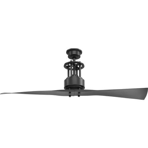 Progress Lighting P2570 Spades - 56 Inch Wide - Ceiling Fan - Handheld Remote