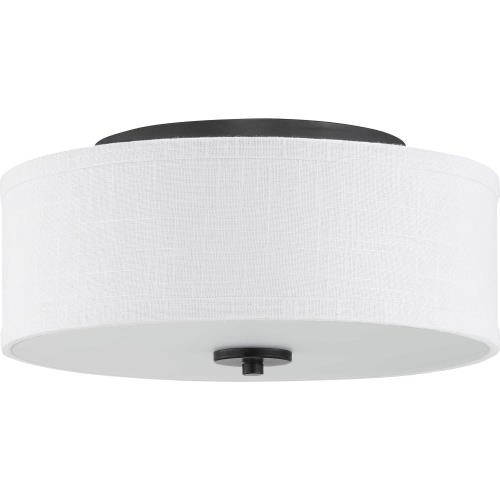 Progress Lighting P350135-009-FM Inspire - 13 Inch 17W 1 LED Flush Mount