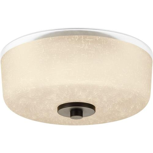 Progress Lighting P3620-20 Alexa - Close-to-Ceiling Light - 2 Light - Bowl Shade in Modern style - 12.25 Inches wide by 6.38 Inches high