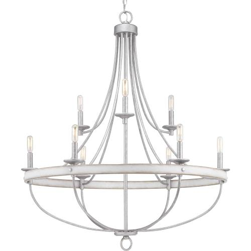 Progress Lighting P400159-92C Gulliver - Chandeliers Light - 9 Light in Coastal style - 35.25 Inches wide by 40.5 Inches high
