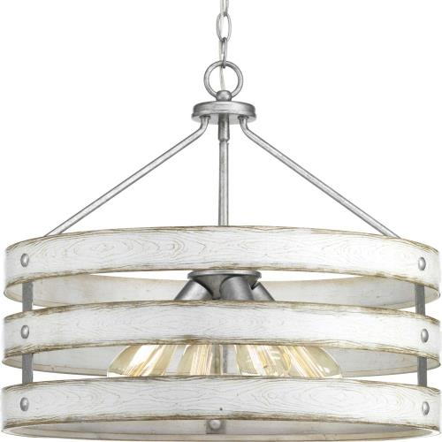 Progress Lighting P500023-141 Gulliver - Pendants Light - 4 Light in Coastal style - 21.63 Inches wide by 18.25 Inches high