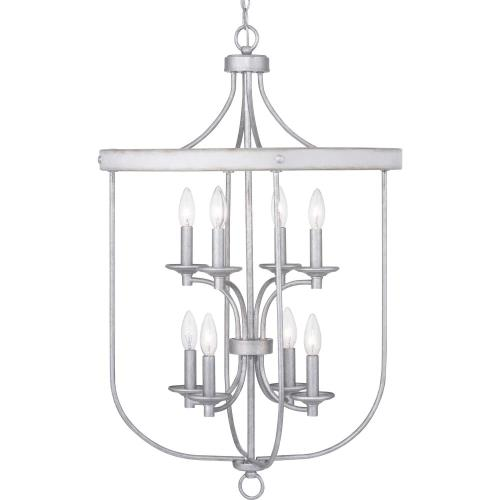 Progress Lighting P500158-8LF Gulliver - 8 Light in Coastal style - 21 Inches wide by 33.75 Inches high