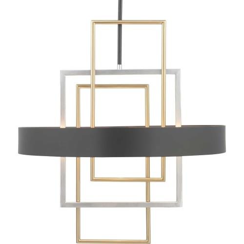 Progress Lighting P500174-031 Adagio - Pendants Light - 6 Light in Luxe and Modern style - 24 Inches wide by 26 Inches high