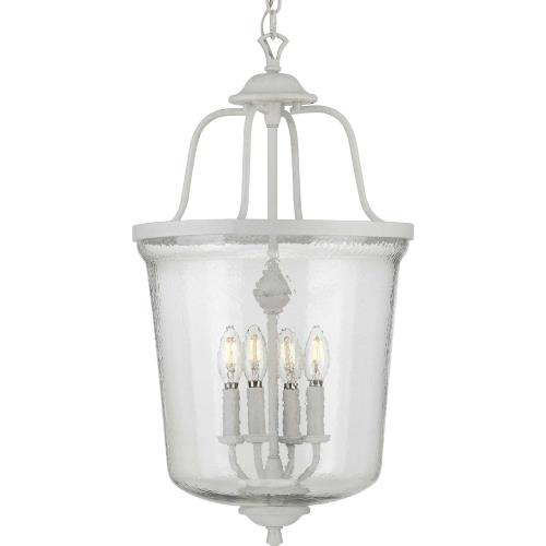 Progress Lighting P500207 Bowman - 4 Light - Bell Shade in Coastal style - 14.25 Inches wide by 26.25 Inches high