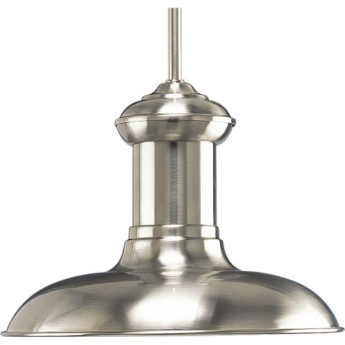 Progress Lighting P5024 Brookside LED - Pendants Light - 1 Light - - Damp Rated in Coastal style - 12 Inches wide by 9.25 Inches high