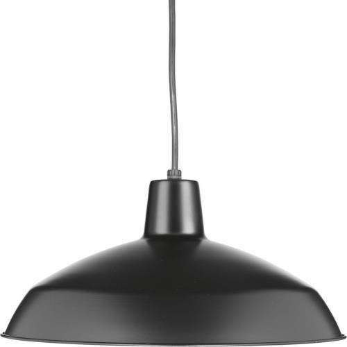 Progress Lighting P5094-31 NULL Pendant 1 Light Spun Metal