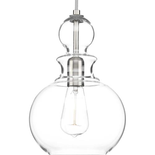 Progress Lighting P5334 Staunton - Pendants Light - 1 Light in Bohemian and Coastal style - 8.5 Inches wide by 12.75 Inches high