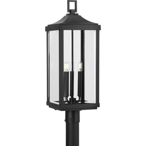 Progress Lighting P540004 Gibbes Street - Outdoor Light - 3 Light in New Traditional and Transitional style - 9.5 Inches wide by 26.88 Inches high