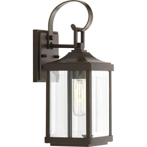 Progress Lighting P560021-020 Gibbes Street - Outdoor Light - 1 Light in New Traditional and Transitional style - 5.5 Inches wide by 15.13 Inches high