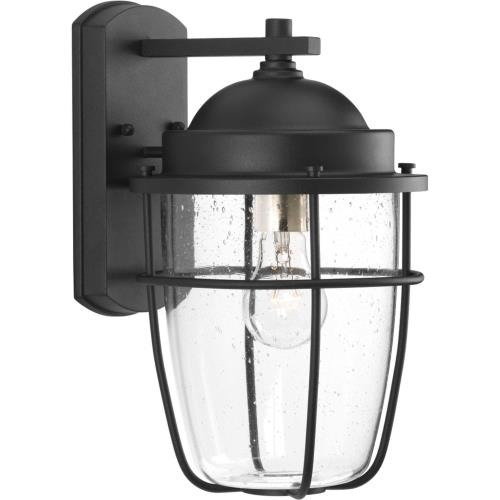 Progress Lighting P560066-031 Holcombe - 13.625 Inch Height - Outdoor Light - 1 Light - Line Voltage - Wet Rated