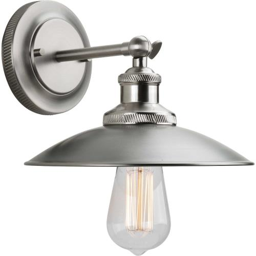 Progress Lighting P7156 Archives - Wall Sconces Light - 1 Light in Farmhouse style - 9 Inches wide by 7 Inches high