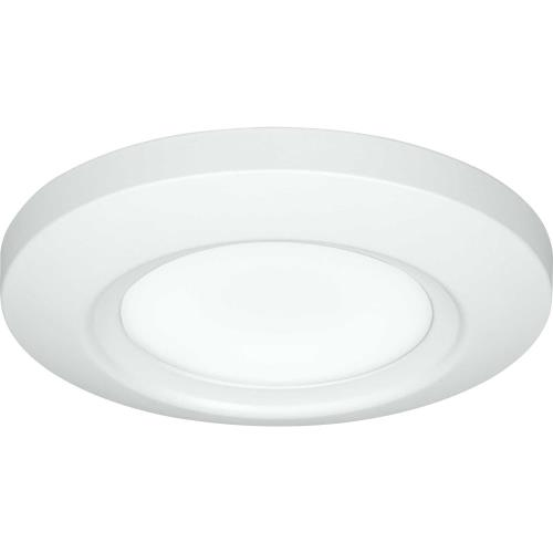 Progress Lighting P810027-028-30 Emblem - Close-to-Ceiling Light - 1 Light in Modern style - 5.5 Inches wide by 0.81 Inches high