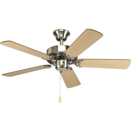 Progress Lighting P2500-09 AirPro - Wide - Ceiling Fan in Transitional style - 42 Inches wide by 12.38 Inches high
