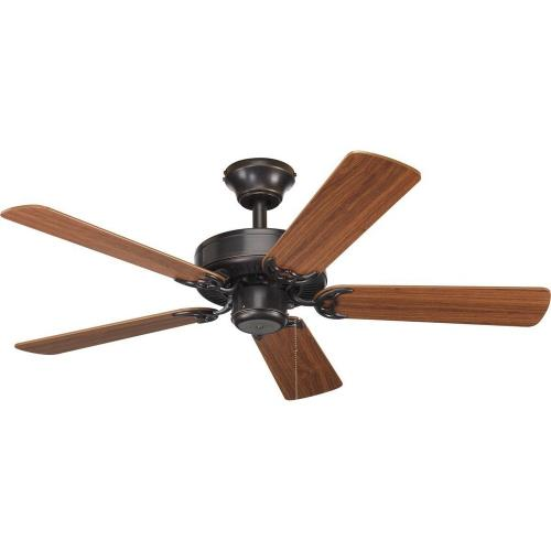 Progress Lighting P2500-20 AirPro - Wide - Ceiling Fan in Transitional style - 42 Inches wide by 12.38 Inches high