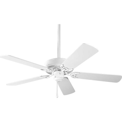 Progress Lighting P2500 AirPro - Wide - Ceiling Fan in Transitional style - 42 Inches wide by 12.38 Inches high