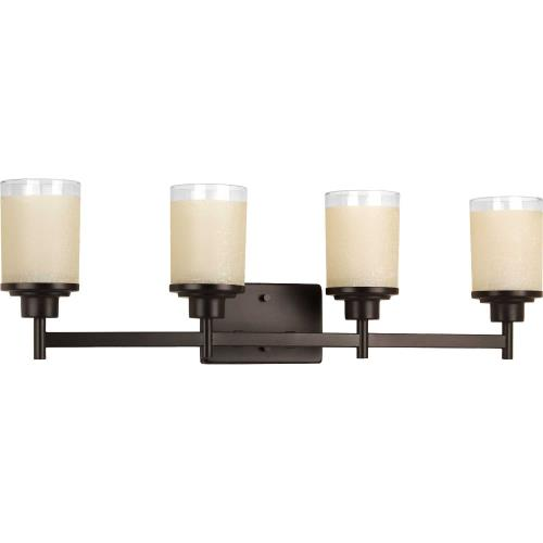 Progress Lighting P2998-20 Alexa - 4 Light in Modern style - 31 Inches wide by 9.44 Inches high