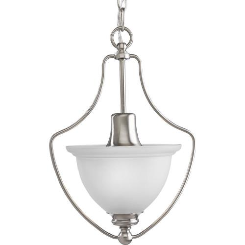 Progress Lighting P3792-09 Madison - 1 Light - Bell Shade in Transitional and Traditional style - 9.5 Inches wide by 14.63 Inches high