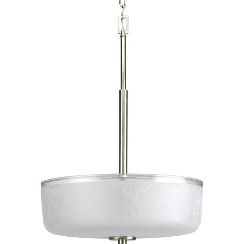Progress Lighting P3846-09 Alexa - 3 Light - Bowl Shade in Modern style - 18 Inches wide by 24.38 Inches high
