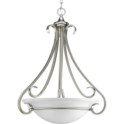 Progress Lighting P3847-09 Torino - 3 Light - Bowl Shade in Transitional style - 22 Inches wide by 27 Inches high