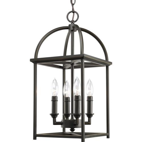 Progress Lighting P3884-20 Piedmont - 4 Light in Farmhouse style - 9.44 Inches wide by 20.38 Inches high