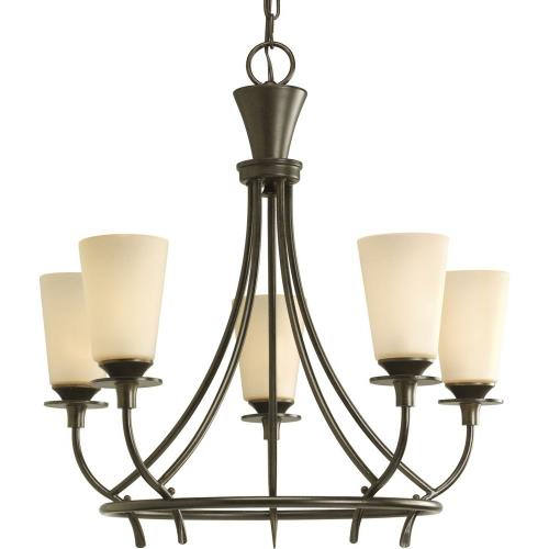 Progress Lighting P4006-77 Five-Light Chandelier Fixture - Chandelier