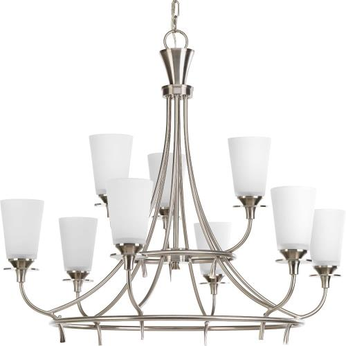 Progress Lighting P4039-09 Cantata - Nine Light 2-Tier Chandelier