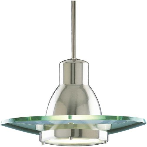 Progress Lighting P5003-09 Glass Pendants - Pendants Light - 1 Light in Transitional and Traditional style - 12.25 Inches wide by 7.13 Inches high