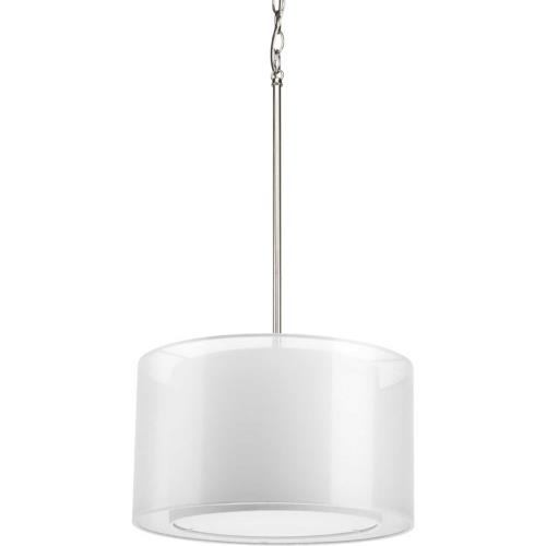 Progress Lighting P5036-09 Cuddle - Pendants Light - 1 Light in Modern style - 16 Inches wide by 9.25 Inches high