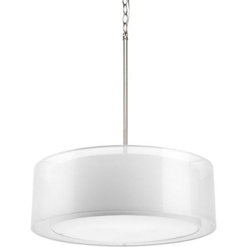 Progress Lighting P5037-09 Cuddle - Pendants Light - 3 Light in Modern style - 22 Inches wide by 7.25 Inches high