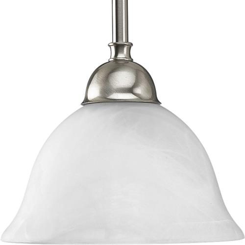 Progress Lighting P5068-09 Avalon - Pendants Light - 1 Light in Transitional and Traditional style - 7.75 Inches wide by 6.25 Inches high