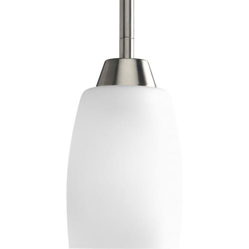 Progress Lighting P5108-09 Wisten - Pendants Light - 1 Light - Tulip Shade in Modern style - 4 Inches wide by 6.75 Inches high