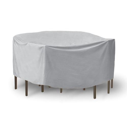 Protective Covers 1159T 92 Inch Round Table with Chairs Combo Cover with Umbrella Hole