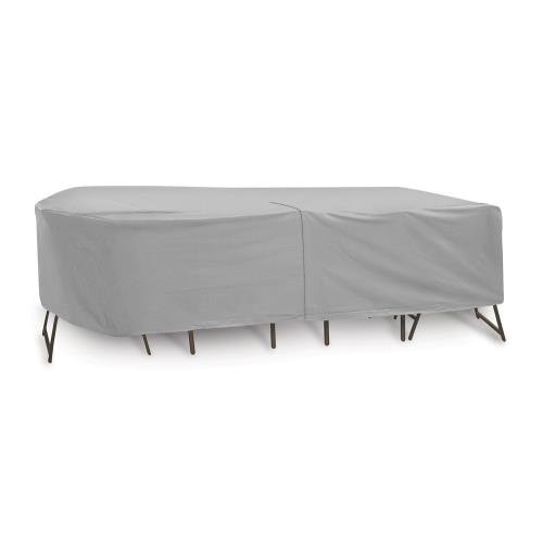 Protective Covers 1348T 135x80 Inch Oval/Rectangular Table and Chair Cover without Umbrella Hole