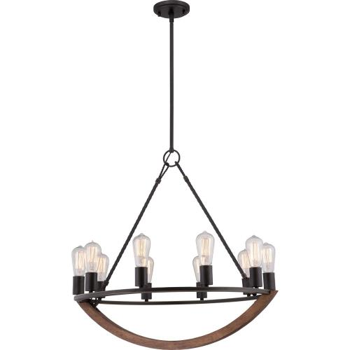 Quoizel Lighting ANR5010IB Anchor - 10 Light Chandelier