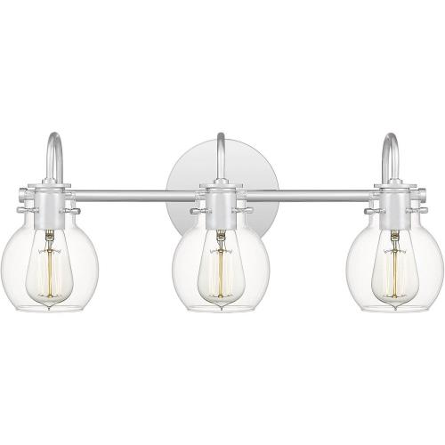Quoizel Lighting ANW8603C Andrews 3 Light Transitional Bath Vanity - 9 Inches high