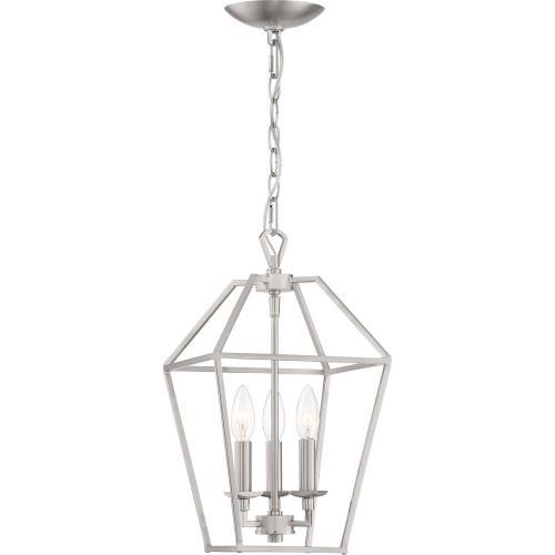 Quoizel Lighting AVY5203BN Aviary Chandelier 3 Light  Steel