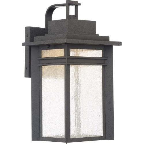 Quoizel Lighting BEC8409SBK Beacon - 22W 1 LED Large Outdoor Hanging Lantern - 16.75 Inches high