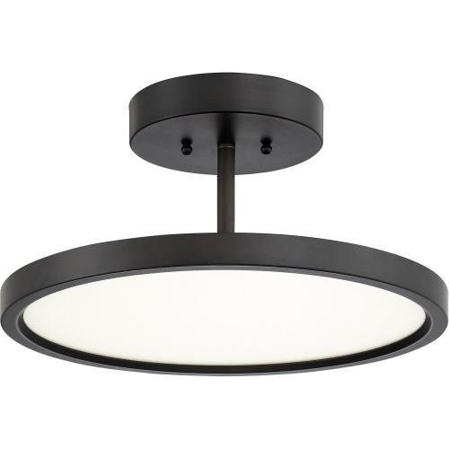 Quoizel Lighting BLW17 Beltway - 15 Inch 30W 1 LED Semi-Flush Mount