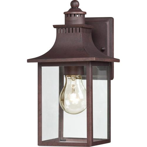 Quoizel Lighting CCR8406CU Chancellor 11.5 Inch Outdoor Wall Lantern Transitional - 11.5 Inches high