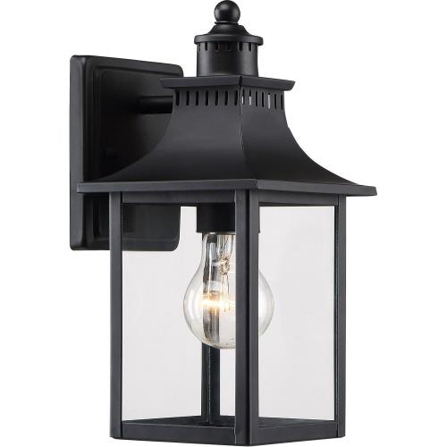 Quoizel Lighting CCR8406K Chancellor 11.25 Inch Outdoor Wall Lantern Traditional Steel - 11.25 Inches high