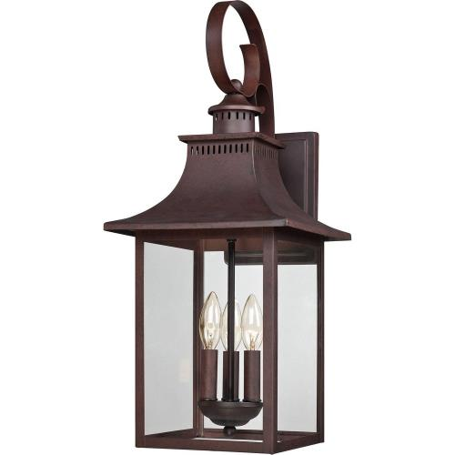 Quoizel Lighting CCR8410CU Chancellor 23.5 Inch Outdoor Wall Lantern Transitional - 23.5 Inches high