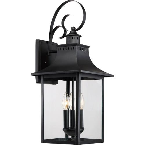 Quoizel Lighting CCR8410K Chancellor 23.5 Inch Outdoor Wall Lantern Traditional Steel - 23.5 Inches high